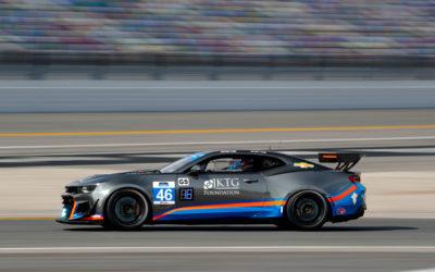 Video: Chevrolet Camaros hit the track at Daytona