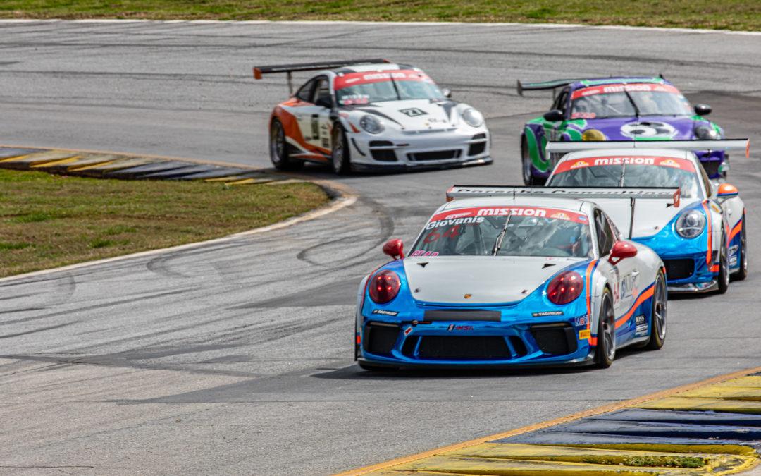 Weekend podium sweep for Giovanis in International GT at Road Atlanta