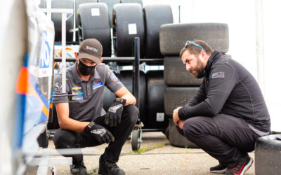 Video: Setting up at Mid-Ohio