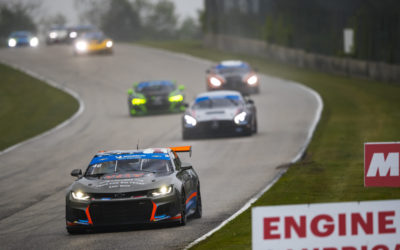 Team TGM finishes mid-field in a rain-soaked Road America 120
